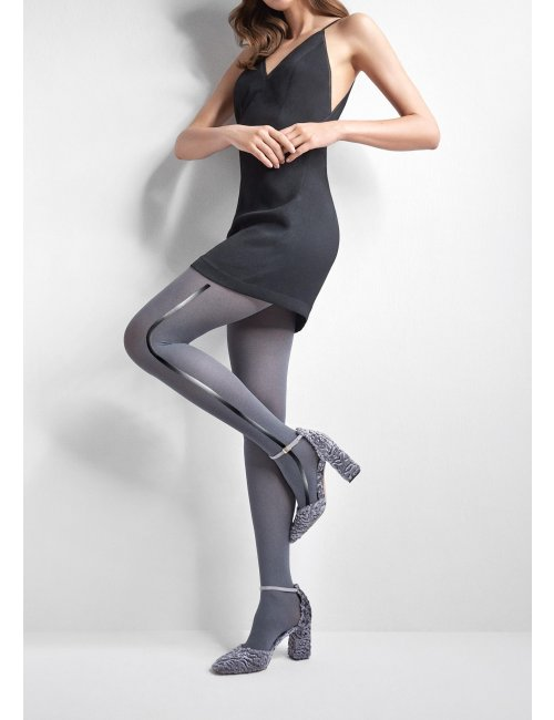Women's patterned tights EMMY R07 60DEN Marilyn