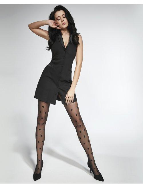 Women's patterned tights PAULINE 20DEN Adrian