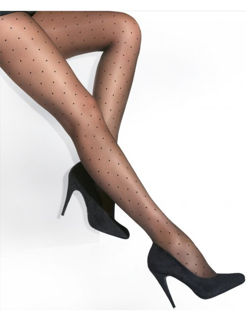 Women's patterned tights PIPS 20DEN Adrian