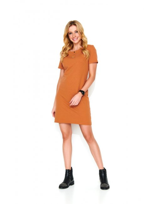 Women's mini dress M481 Makadamia
