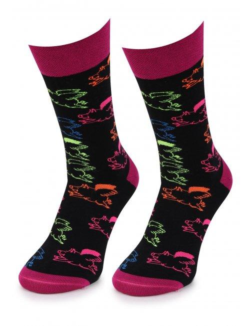 Men's socks NEO PIGS MEN Marilyn