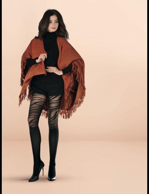Women's patterned tights SAMMY 794 60EN Gabriella