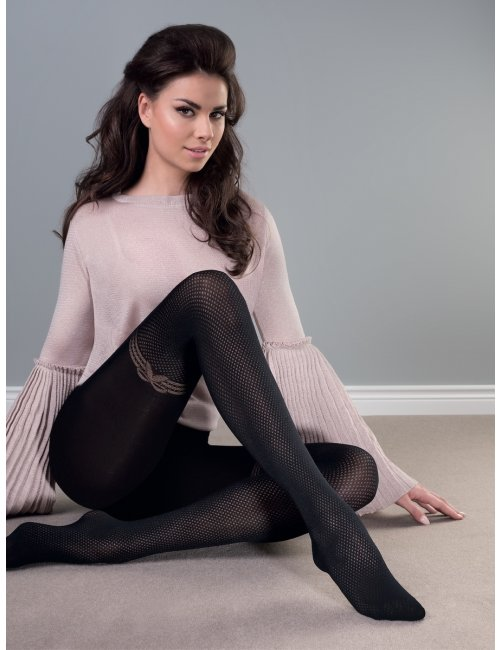 Women's patterned tights RUMBA 60DEN Gabriella