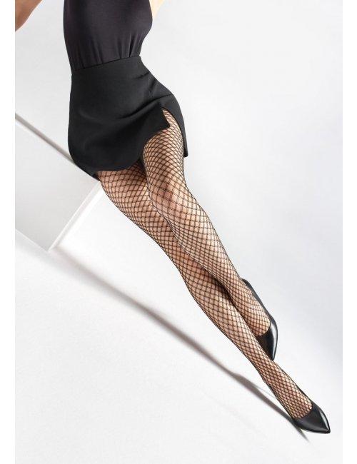 Women's fishnet stockings CHARLY U12 Marilyn