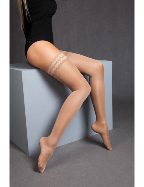 Women's compressive self-hold tights RELAX 140DEN Maxis