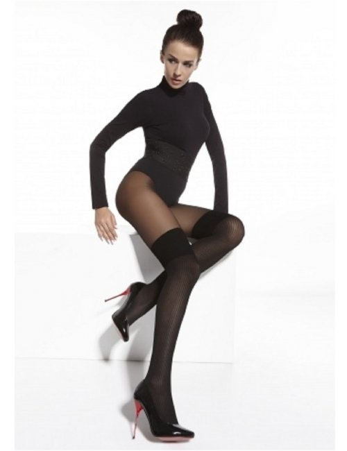 Women's patterned tights SARA 20/40DEN Adrian
