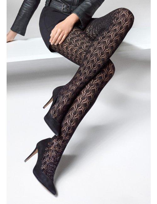 Women's fishnet stockings SOPHIA R06 120DEN Marilyn