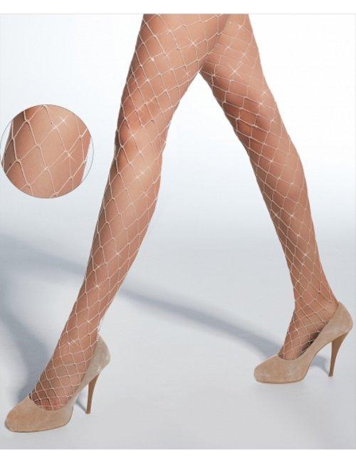 Women's fishnet tights SPARKLE Adrian