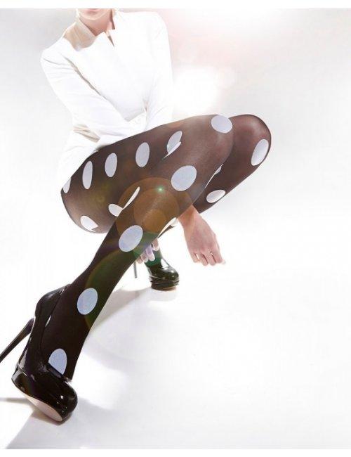 Women's patterned tights SPOTS 40DEN Adrian