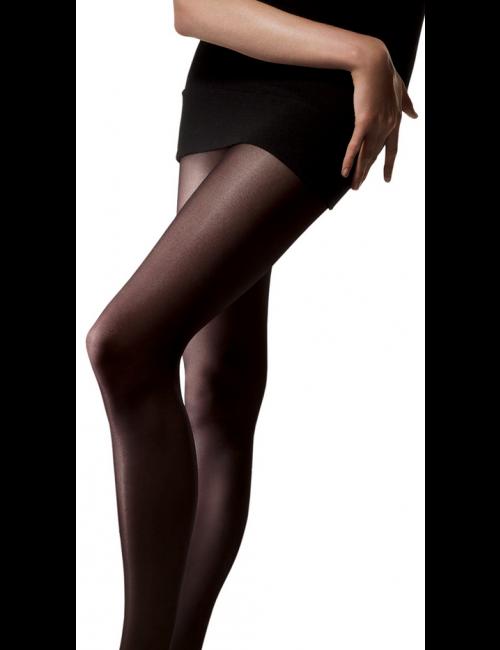 Women's seamless tights VELOUR 30DEN Omsa