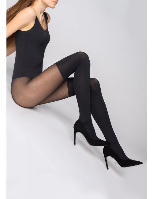 Women's patterned tights ZAZU CLASSIC 60DEN Marilyn